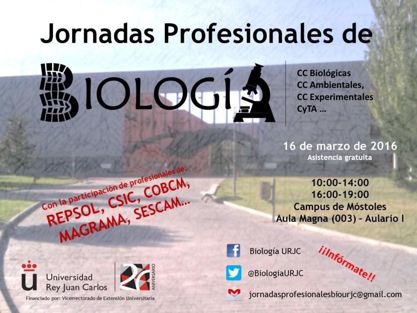 Jornadas Profesionales de Biología URJC