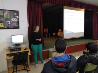 Irene Bruñas. Alumna de TFG de CC. Experimentales de la URJC