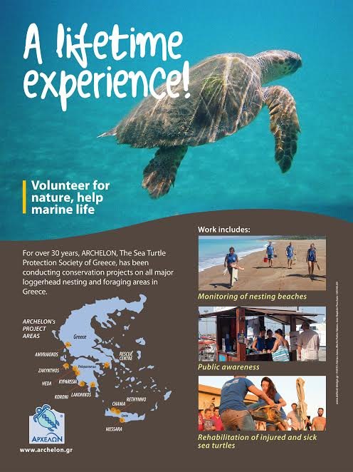 Volunteer Opportunities in ARCHELON
