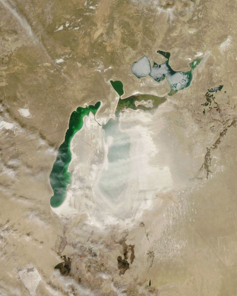 Aral Sea_dust storms