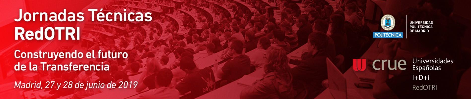 Jornadas Técnicas RedOTRI 27 y 28 de Junio en Madrid