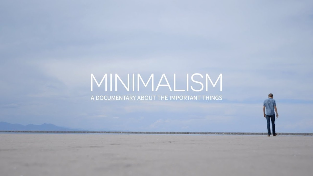 Minimalismo: las cosasimportantes